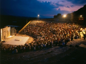 Ancient Theatre of Philippi, Alexandros Hotel, Drama, hotels, rooms, apartments, accommodation, vacations, Drama, Greece